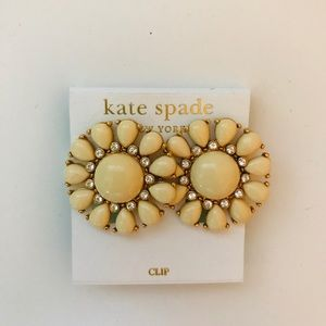 Kate Spade Clip on earrings